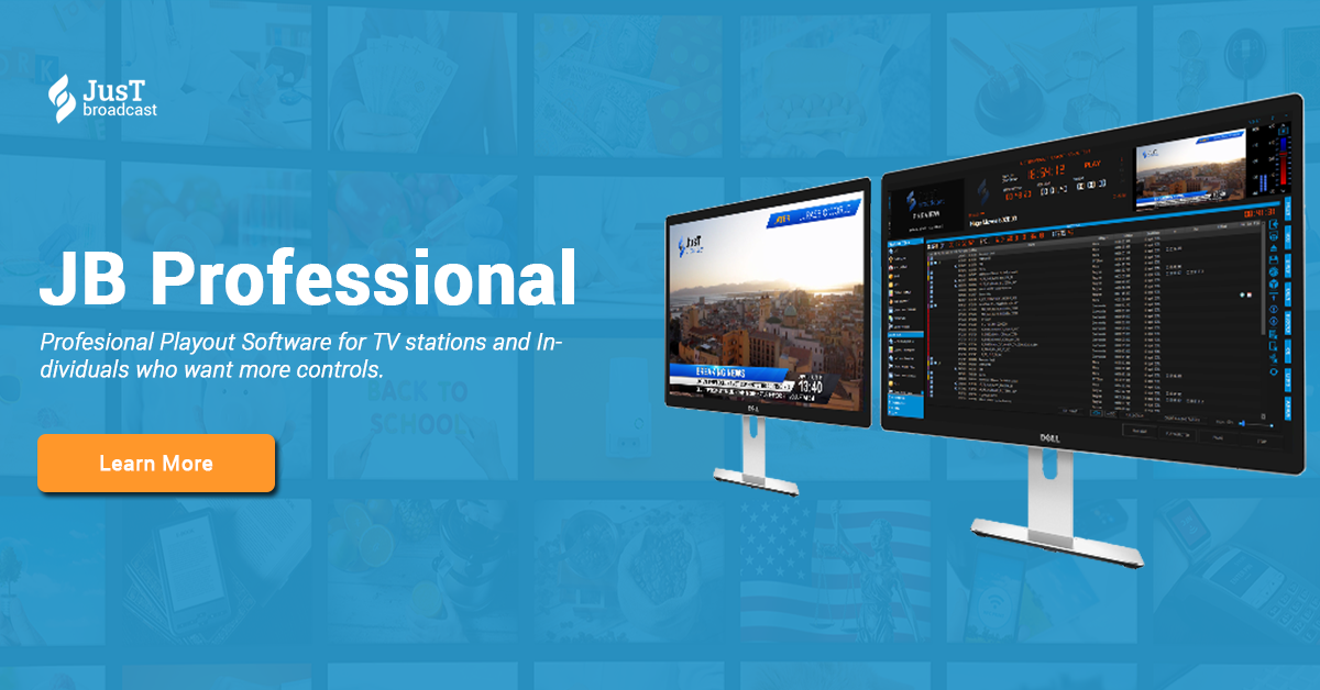 Professional Playout Software • JB Playout Professional
